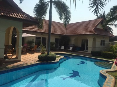 Nirvana Pool Villa 1 - House - Pattaya East - East Pattaya