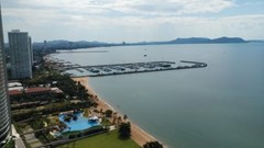 sunshine beach condotel to rent in Na Jomtien Pattaya