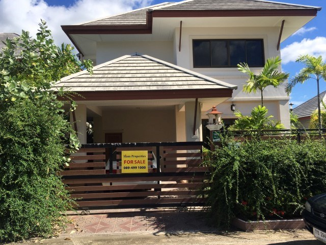 Baan Dusit Pattaya house for sale Pattaya  Baan Amphure - House - Jomtien East - Ban Amphur,Pattaya