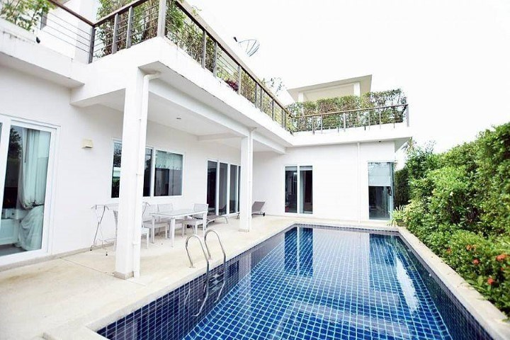 Mountain Village 1 Baan Amphur   - House - Jomtien East - Baan Amphur