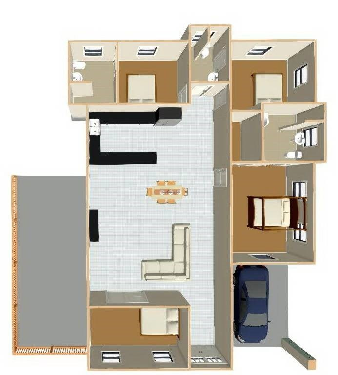 23 Floor plan for renovation