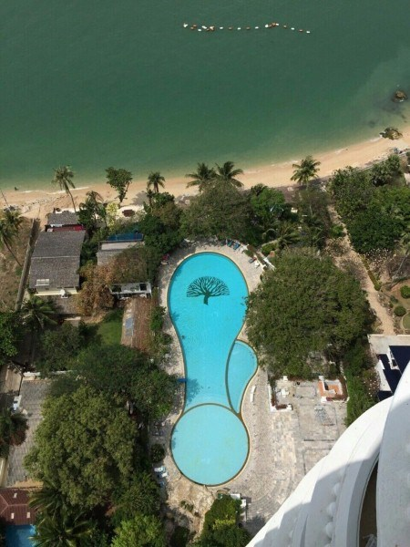 view talay 7 beachfront corner apartment for rent in jomtien Condominiums to rent in Jomtien Pattaya